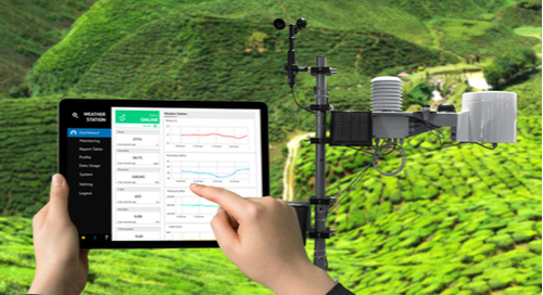 Using an iPad to record data from instruments anywhere