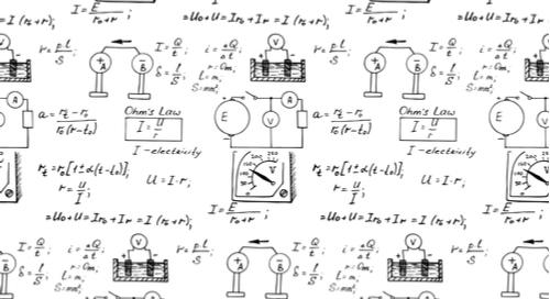 Math on a paper