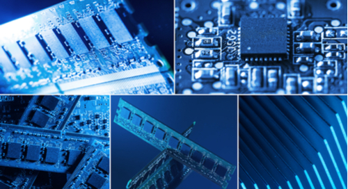 Collage of different circuit boards