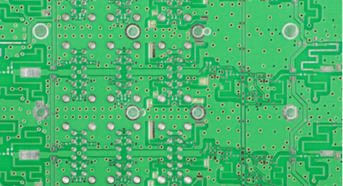 PCB designed for microwave applications