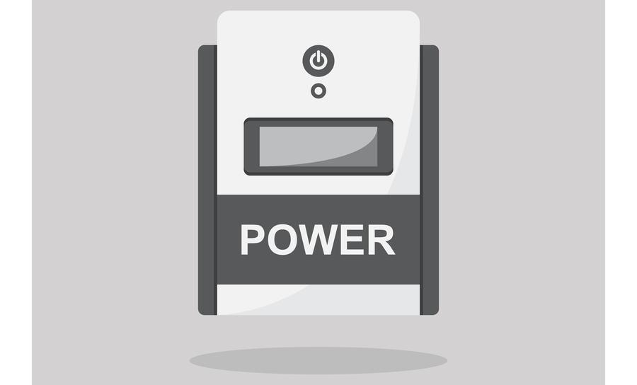 Uninterrupted power supply input
