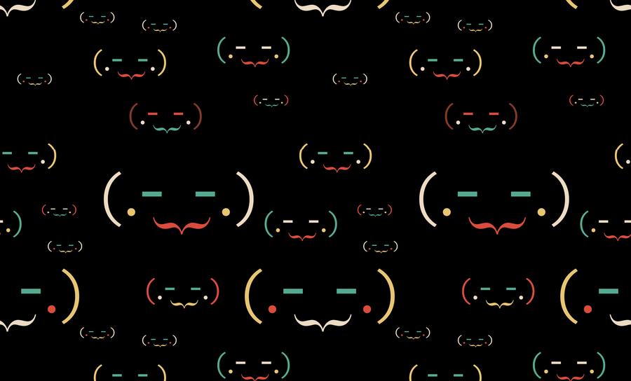 Hacker-like ASCII text art