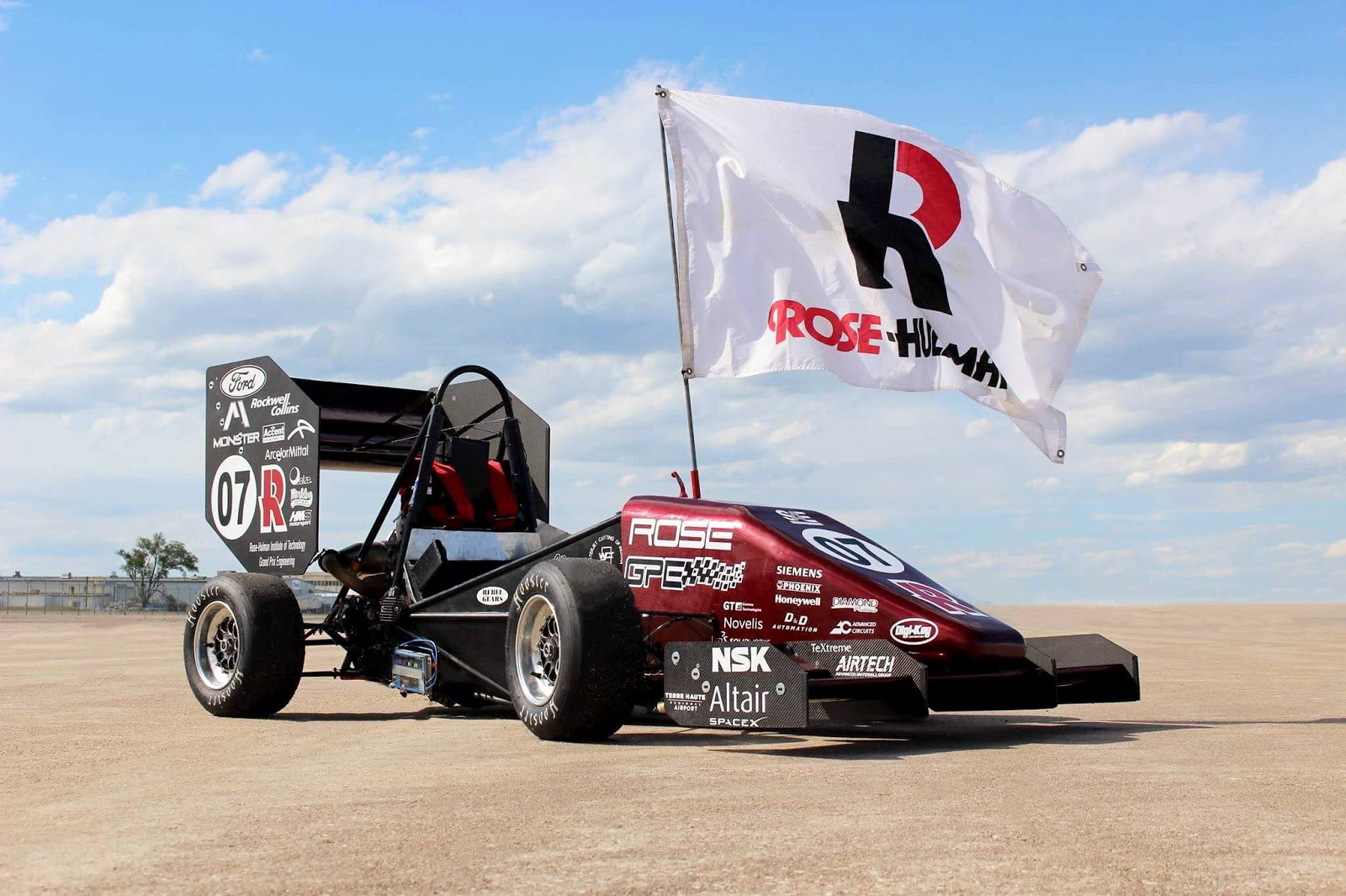 Rose Hulman FSAE Car