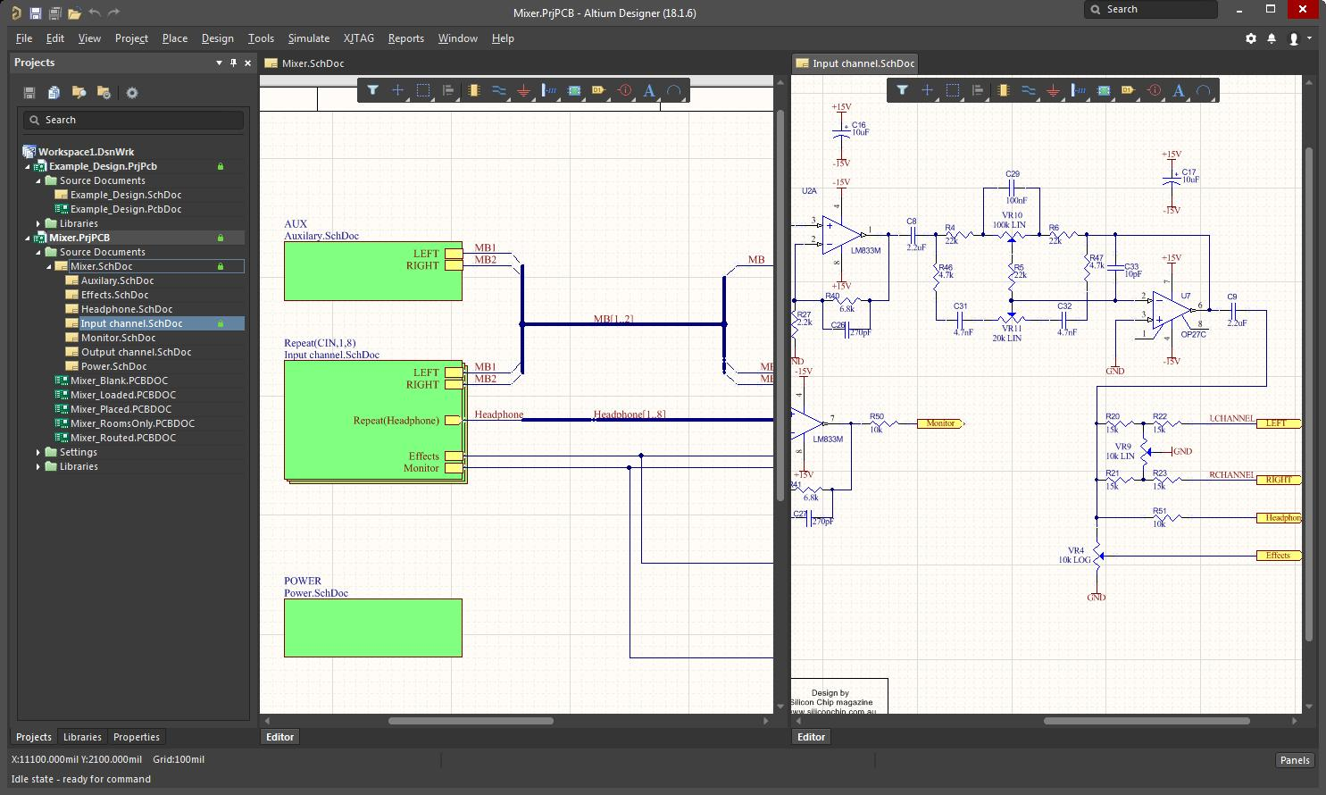 How Do I Flip And Rotate Components In Altium Other Schematic Board Design The Pcb Guide Printed Circuit Layout Screenshot Ad18 Comps
