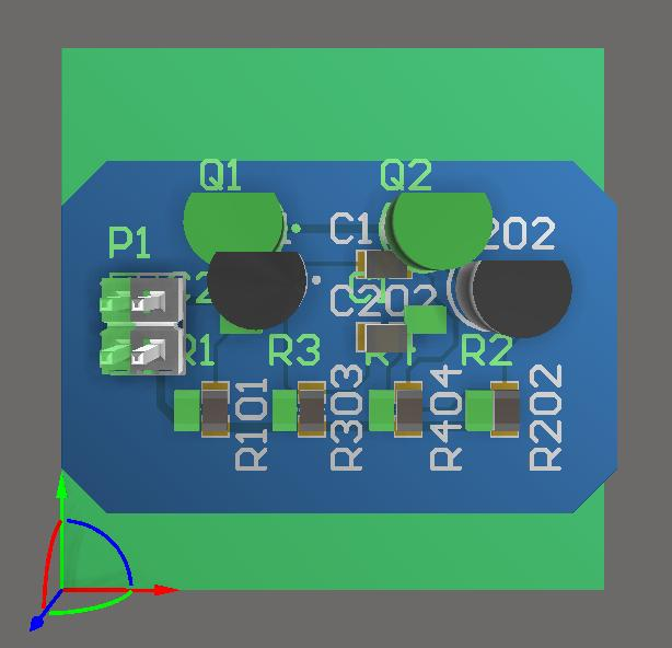 Screenshot of AD18 importing the physical designs for Multi Board
