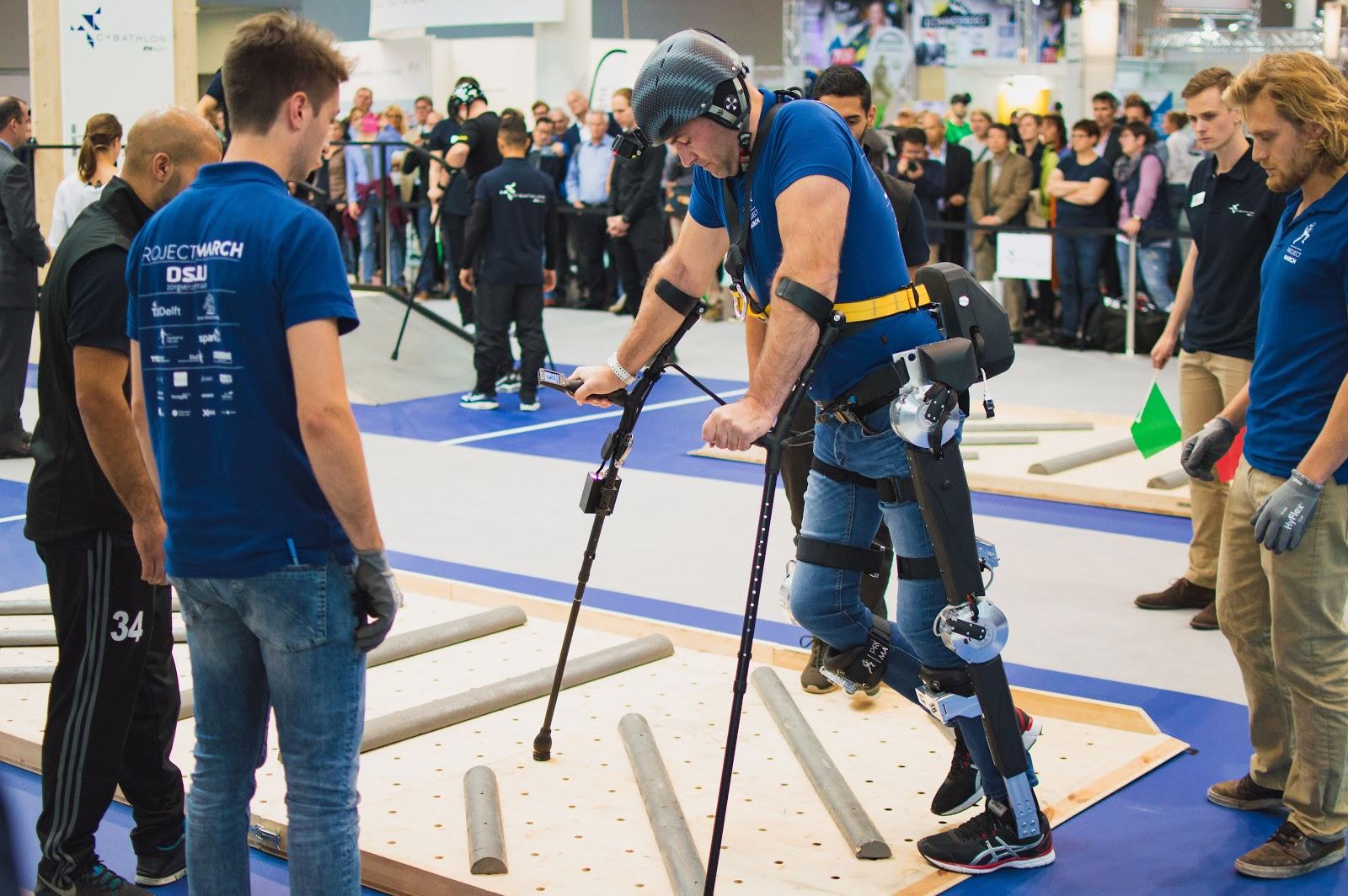 Ruben de Sain navigating balancing challenge