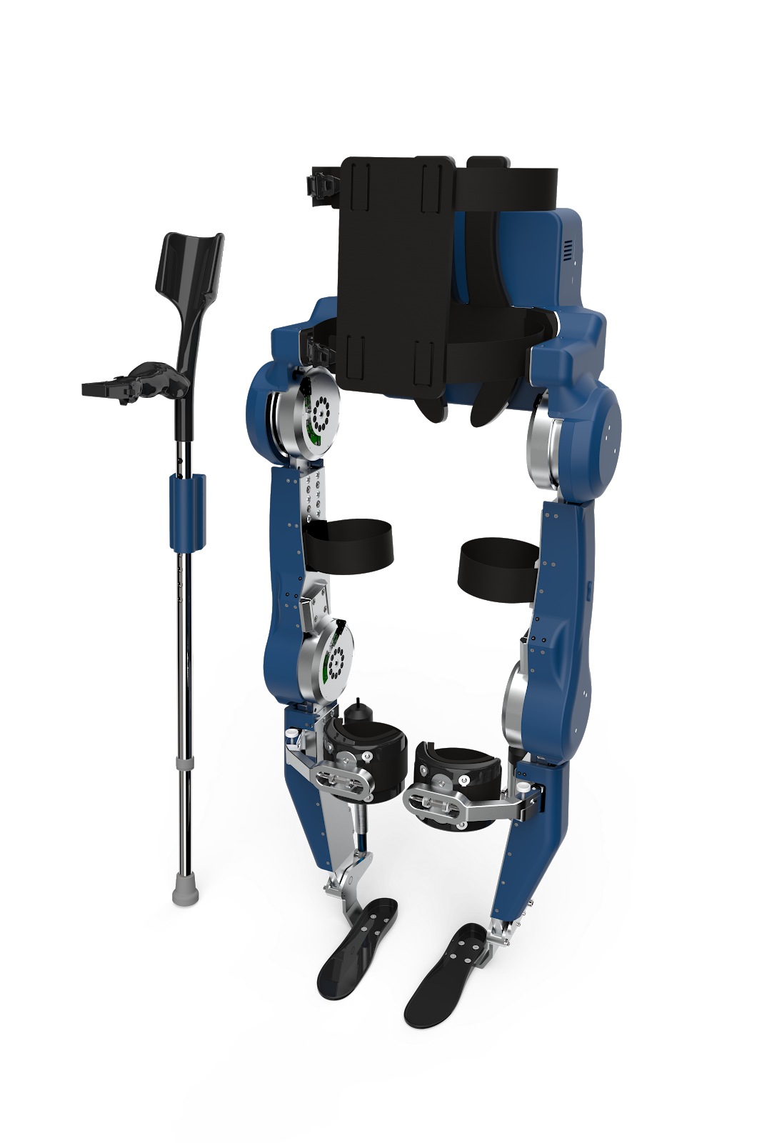 Exoskeleton with 30 PCBs
