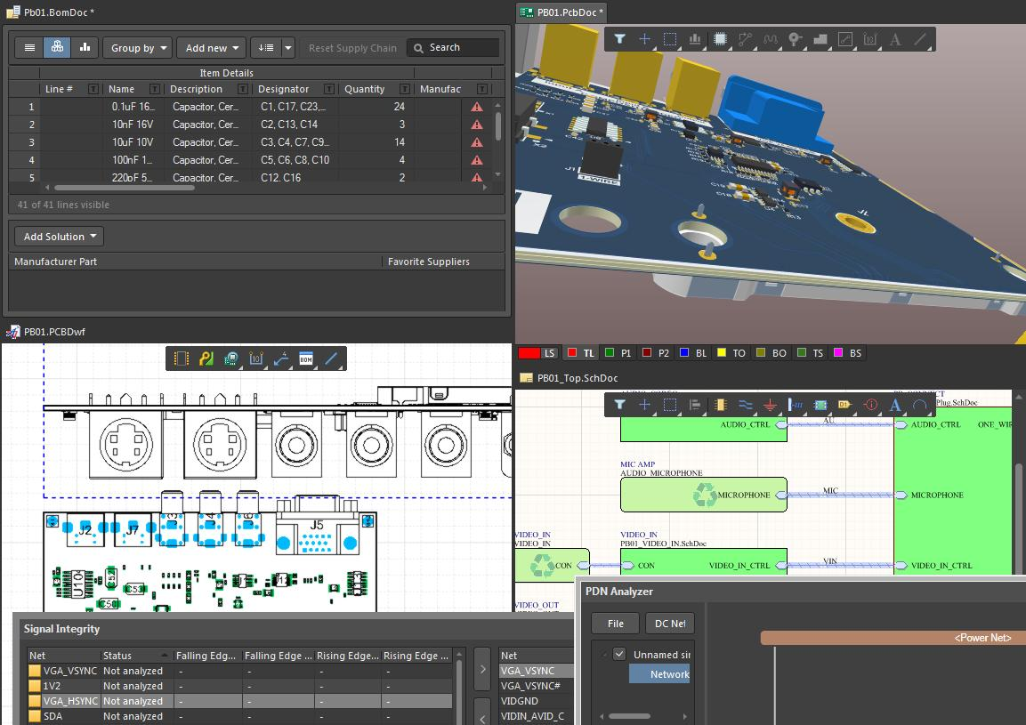 Screenshot of AD18 with many tools open in the session in the cost of CAD software
