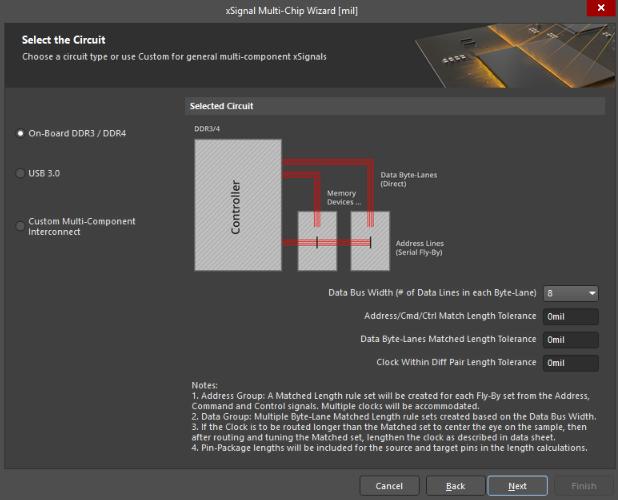 AD18 xSignal Multi-Chip Wizard