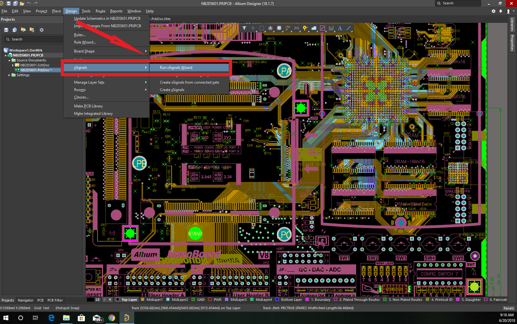 Altium Designer 18 intelligent layout