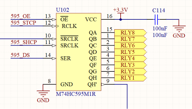 Screenshot from Altium Designer Schematic files