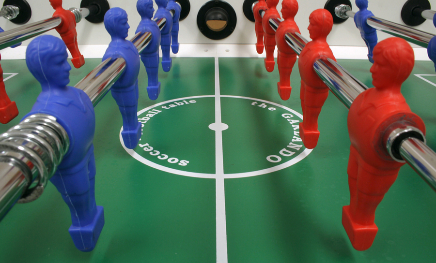 Picture of Foosball Table in advanced bill of materials