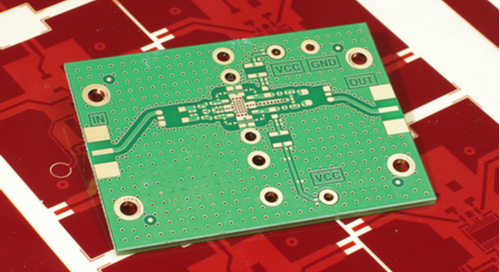 PCB and Gerber file mask