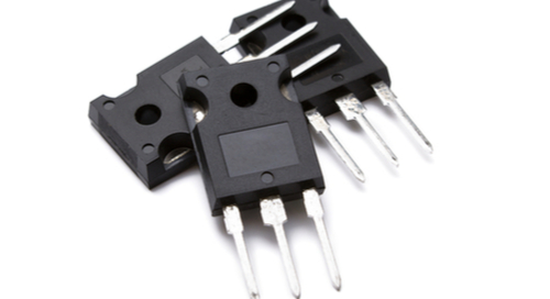 Typical power transistor