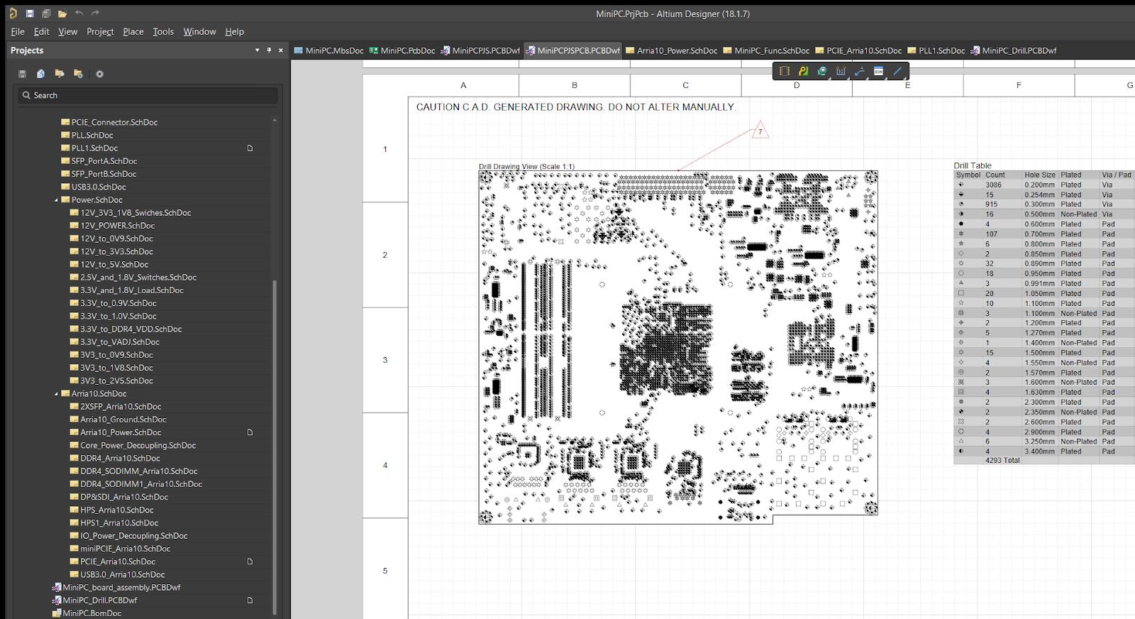 MiniPC.PrjPcb - Altium Designer (18.1.7)
