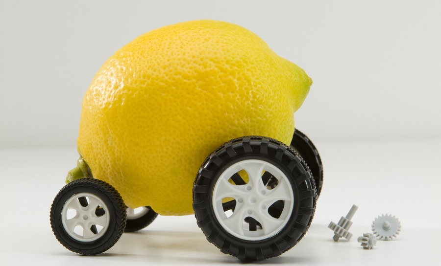 Image of lemon for a car in rigid flex PCB cost comparison