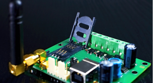 Rubber ducky antenna on a PCB
