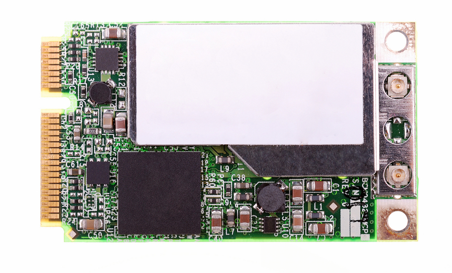 Photograph of a Wifi card