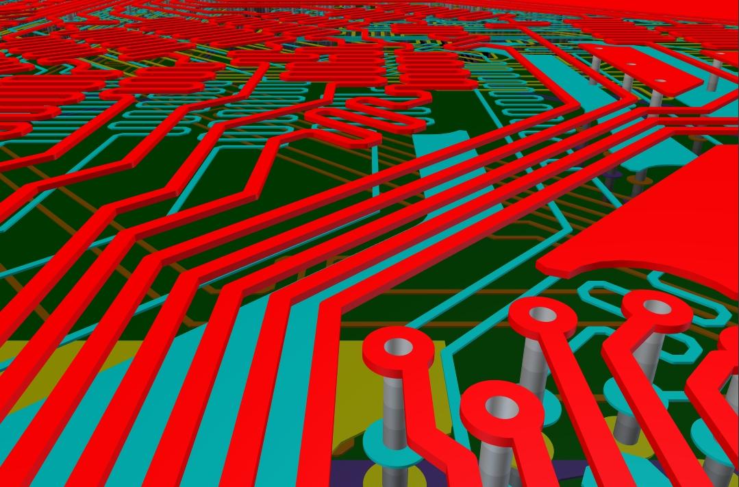 Altium 's  3D environment