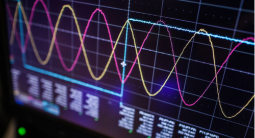 Signal measurement with an oscilloscope