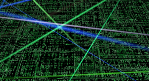 PCB design with laser lines