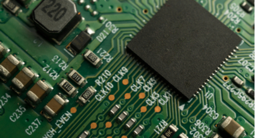 Printed circuit boards use layers to route components