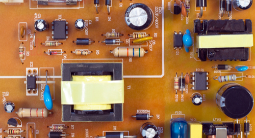 PCB from a switching power supply
