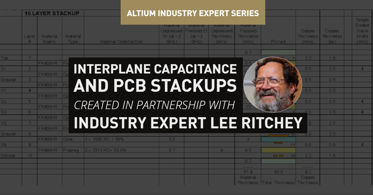 Interplane capacitance and pcb stackups cover image