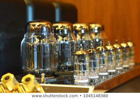 Vacuum tubes for amplifying audio signals