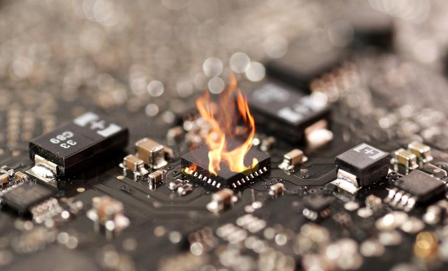 chip burning