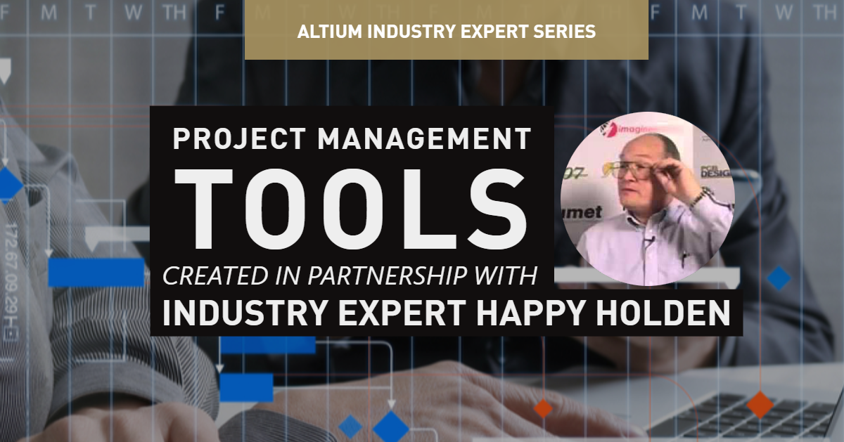 project management cover featuring gantt chart