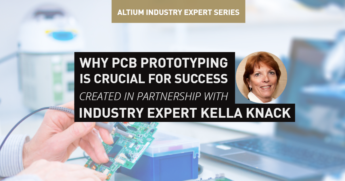 pcb prototyping cover photo with Kella Knack