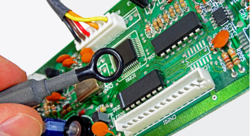 Near field probe for testing against EMI/EMC standards for PCB design