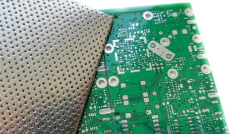 Shielding material for a PCB