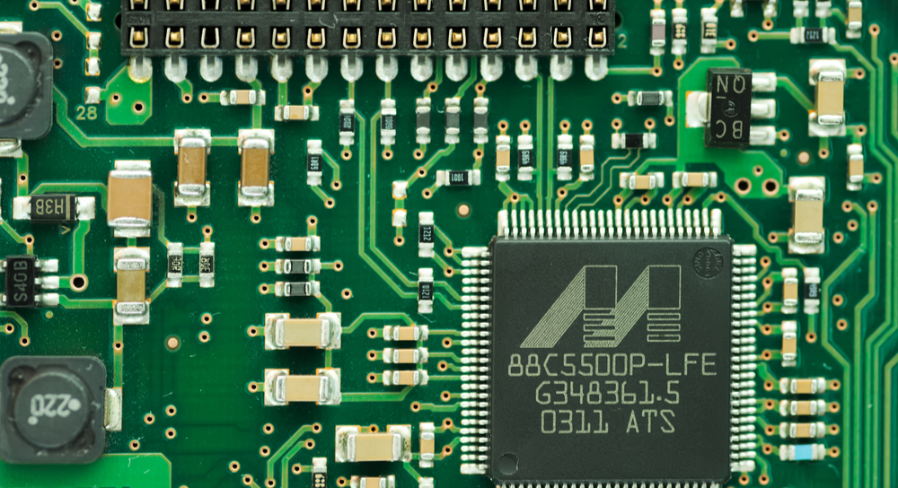 Green PCB for an embedded system