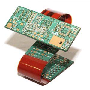 Static board created with flex PCB design techniques