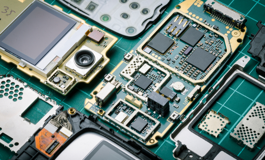 PCBs for old cell phones