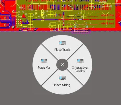 3D Connexion SpaceMouse Pro radial menu