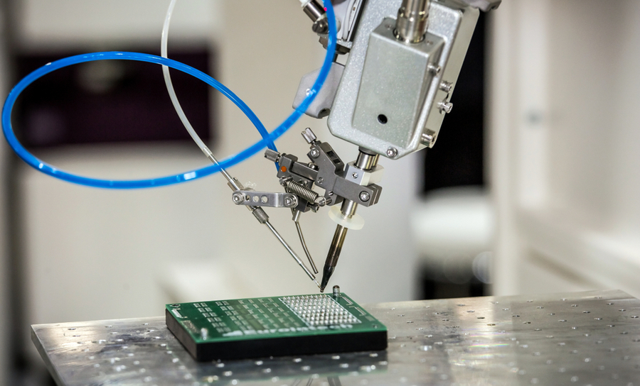 Automated PCB soldering with a robot