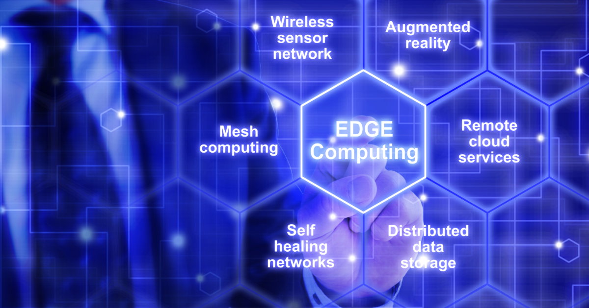 New products for edge computing vs. cloud computing