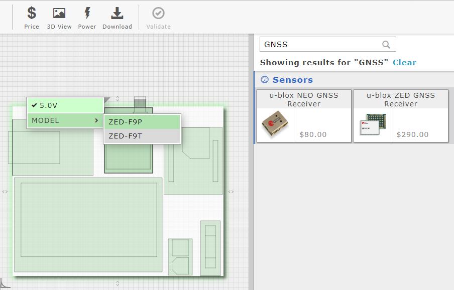 Modular layout Gumstix Pi Compute board