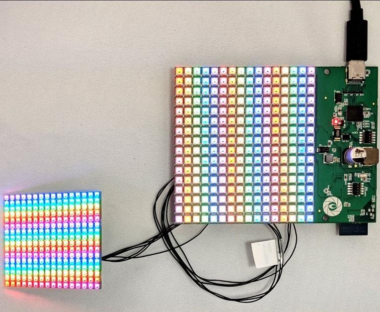Connecting RGB matrix displays to an SBC