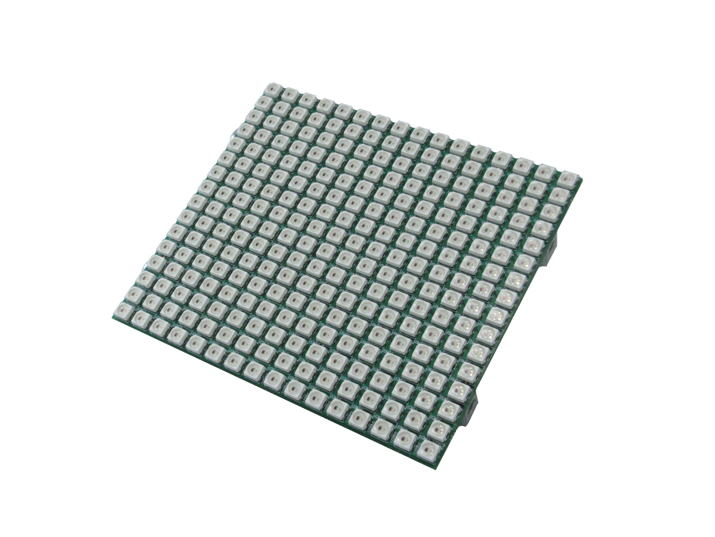 RGB LED panel from Gumstix