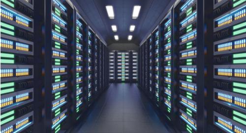 AI computing platform vs. server room