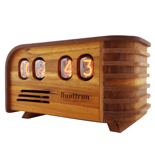 The Vintage Nuvitron Nixie Tube Clock