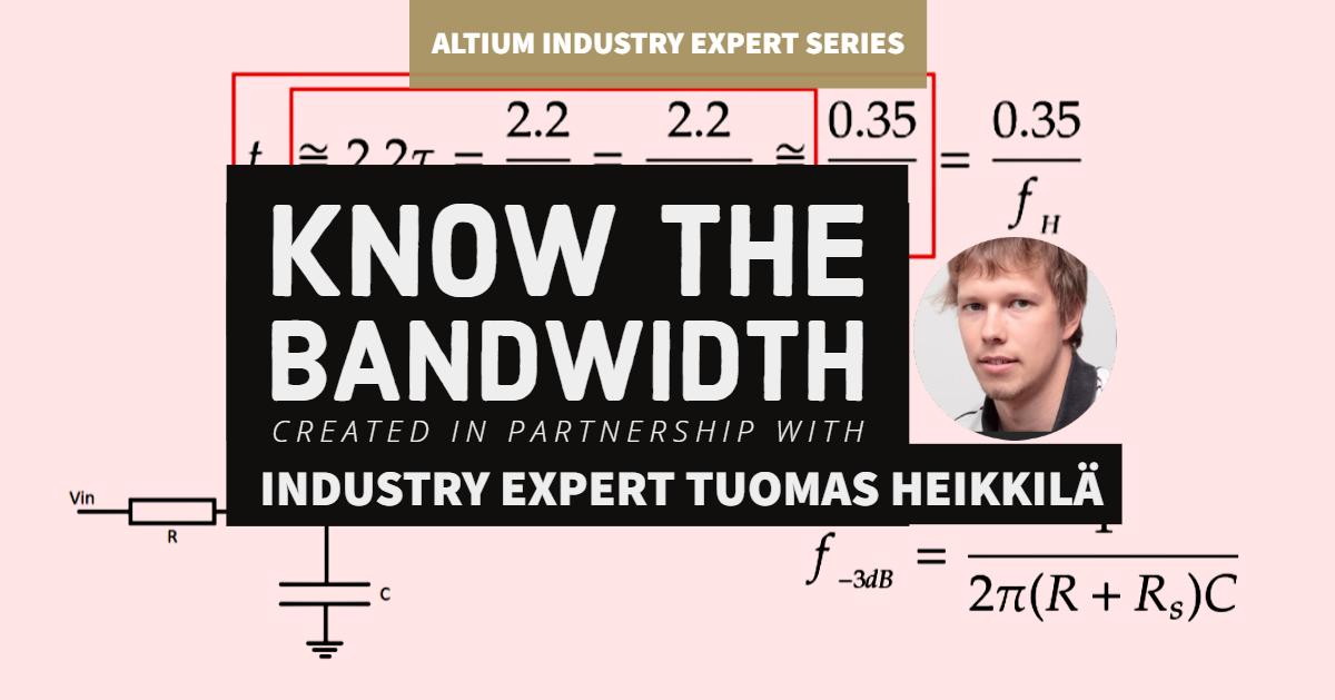 Know the Bandwidth with Industry Expert Tuomas Heikkilä