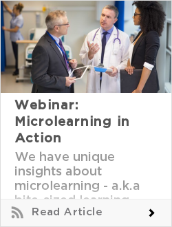 Webinar: Microlearning in Action