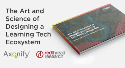 The Art and Science of Designing A Learning Tech Ecosystem