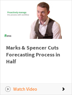 Marks & Spencer Cuts Forecasting Process in Half
