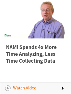 NAMI Spends 4x More Time Analyzing, Less Time Collecting Data